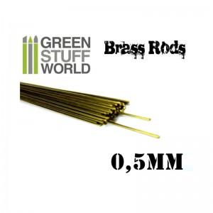 BRASS RODS 0.5MM