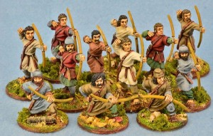 Saxon Ceorls / Salian Frank Levy with Bows