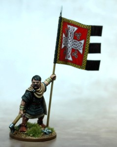 Welsh Warbanner & Bearer
