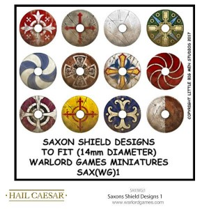 SAXONS SHIELD DESIGNS 1
