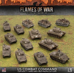 LATE WAR AMERICAN TANK COMPANY ARMY DEAL