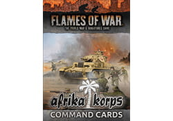 COMMAND CARDS AFRIKA CORPS (Germans)