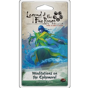 Meditations on the Ephemeral Expansion Pack: L5R LCG