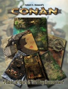 CONAN: FIELDS OF GLORY & THRILLING ENCOUNTERS GEOMORPHIC TILE SET