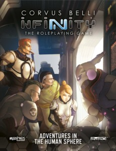 INFINITY: INFINITY ADVENTURES IN THE HUMAN SPHERE