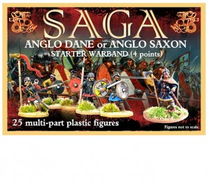 Plastic Saxon (Anglo-Dane) Starter (4 points)
