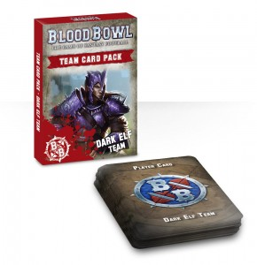 BLOOD BOWL: DARK ELF TEAM CARDS (ENG)