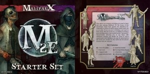 MALIFAUX 2ND EDITION STARTER SET (2 CREWS+DECKS ETC)