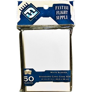 FFG STANDARD CARD GAME SLEEVES - WHITE 50
