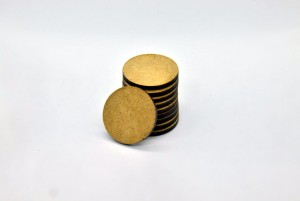 HDF BASES 30mm ROUND (10 pieces)