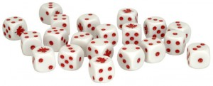 Team Yankee Canadian Dice (x20)