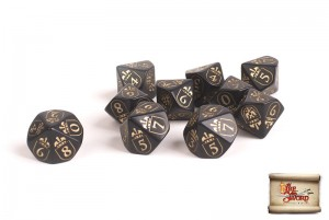IMPERIAL DICE SET (10)