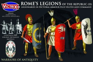 VICTRIX ROME'S LEGIONS OF THE REPUBLIC (II) PECTORAL ARMOUR