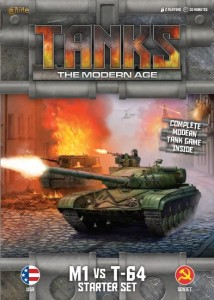 MODERN TANKS STARTER SET - M1 VS T-64