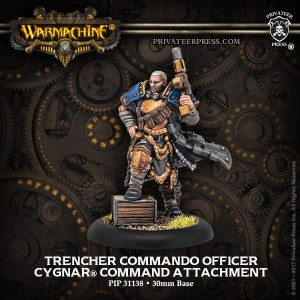 CYGNAR ATTACHMENT TRENCHER COMMANDO OFFICER