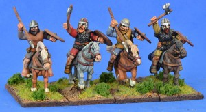 Pict Nobles Mounted (Hearthguard) (1 point) (4)