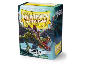 DRAGON SHIELD GREEN MATTE (100SZT.)