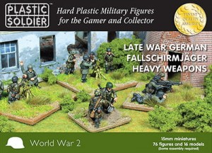 15mm German Falschirmjaeger Heavy Weapons