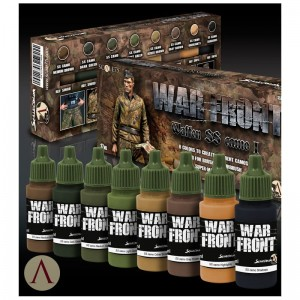PAINT SET - WAFFEN SS CAMOUFLAGE I