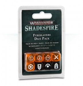 CHOSEN AXES DICE SET