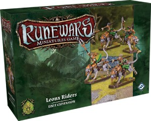 Leonx Riders Expansion Pack: Runewars Miniatures Game
