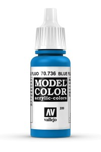 MODEL COLOR 70736 BLUE FLUO