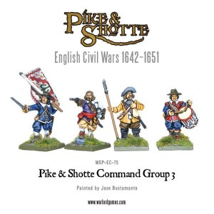 PIKE & SHOTTE COMMAND GROUP 3 [MADE TO ORDER]