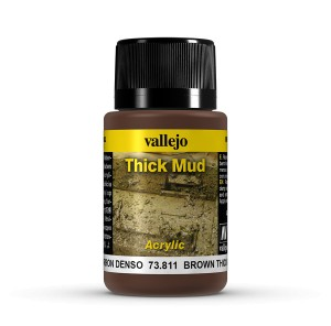 THICK MUD - BROWN MUD 40 ML.