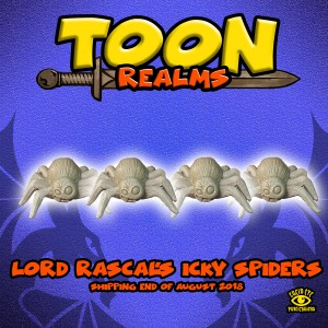 RASCAL'S ICKY SPIDERS