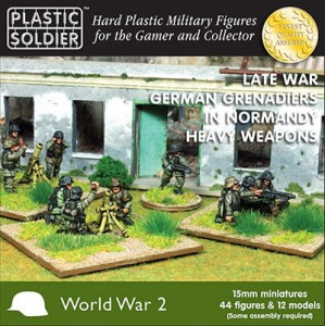 15mm German Grenadiers in Normandy Heavy Weapons