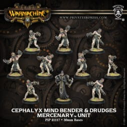 MERCENARY CEPHALYX MIND BENDER & DRUDGES (10)