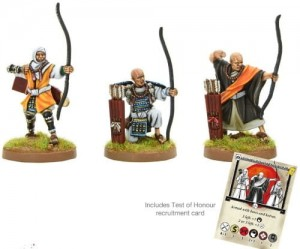 SOHEI WARRIOR MONK ARCHERS