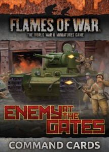 ENEMY AT THE GATES COMMAND CARDS (x44)