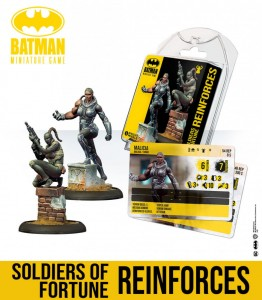 Batman Miniature Game: Soldiers Of Fortune Reinforces
