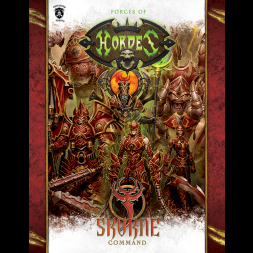 FORCES OF HORDES SKORNE COMMAND BOOK (SOFT COVER)
