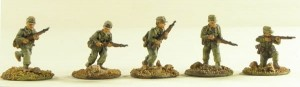 20mm Deutsche Afrika Korps rifle section with caps